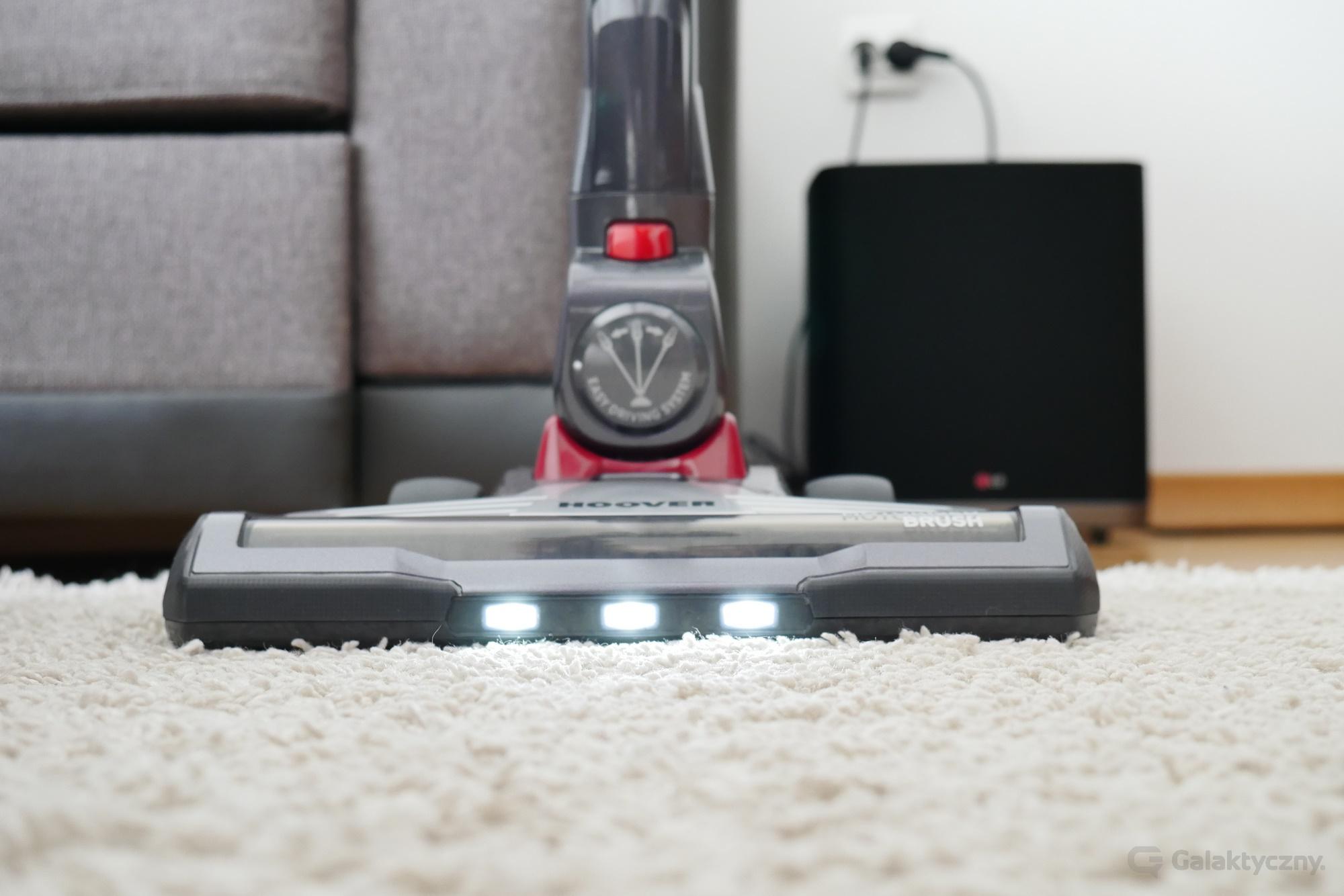 Hoover Rhapsody - elektroszczotka z oświetleniem LED