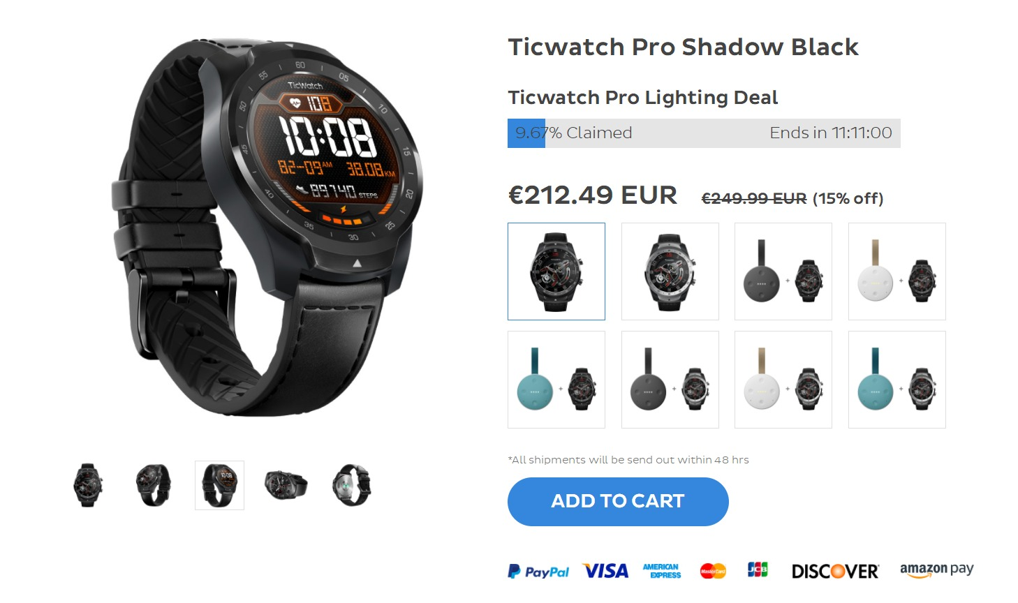 Promocja na Mobvoi Ticwatch Pro