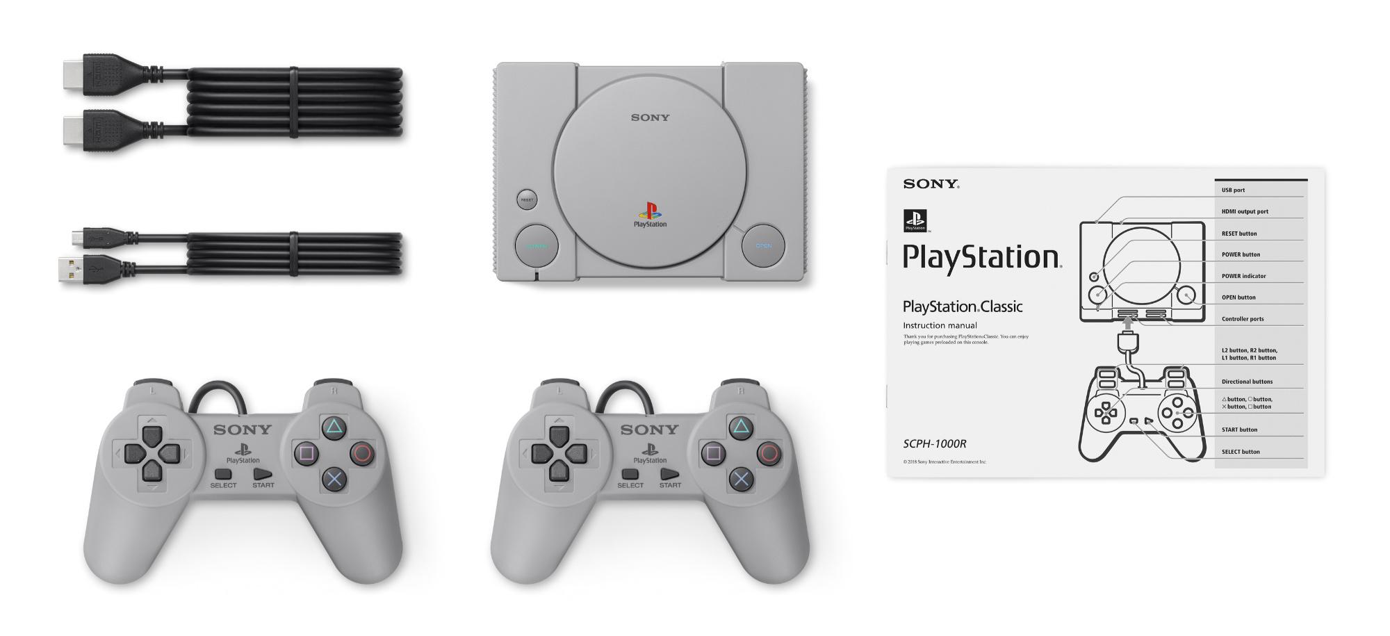PlayStation Classic - co w zestawie?