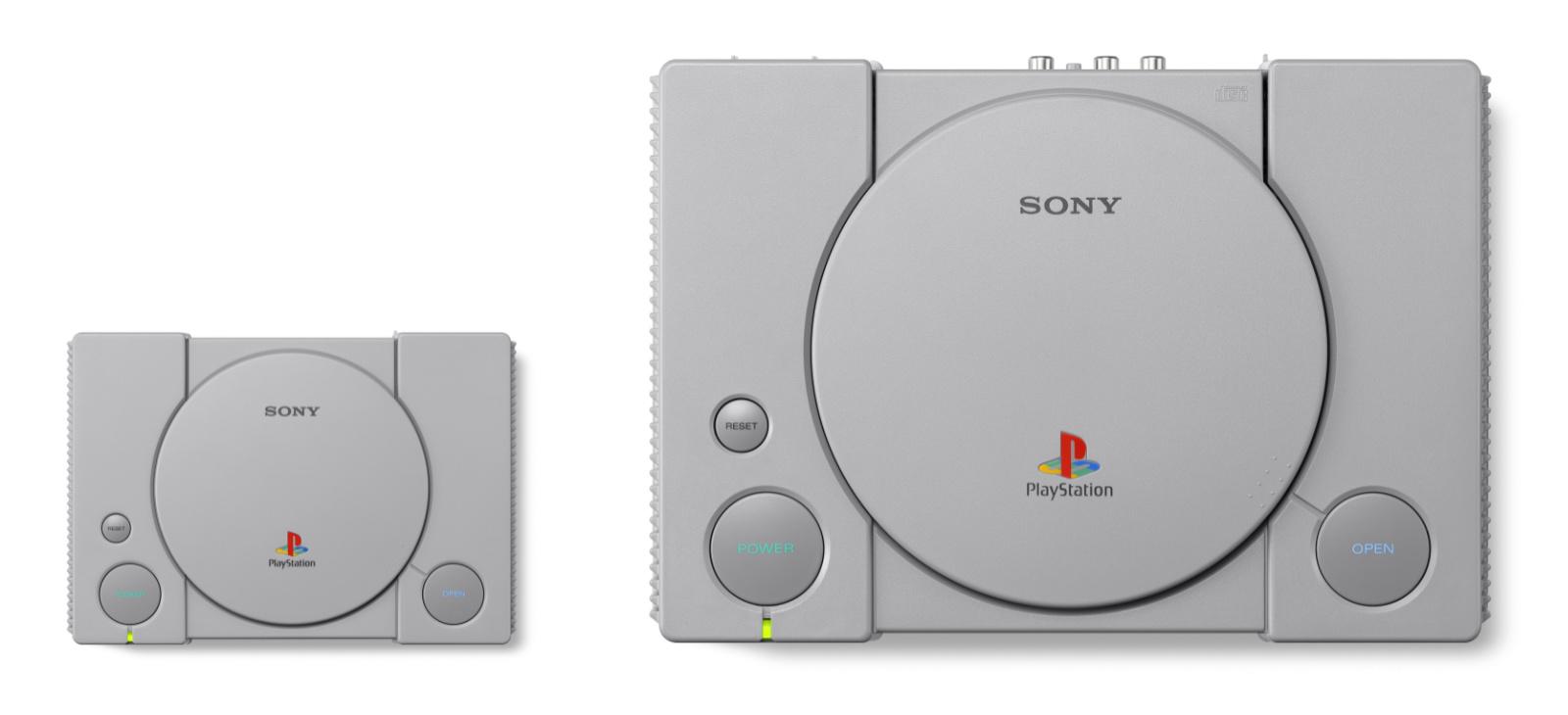 PlayStation Classic (2018) i oryginalna wersja PlayStation
