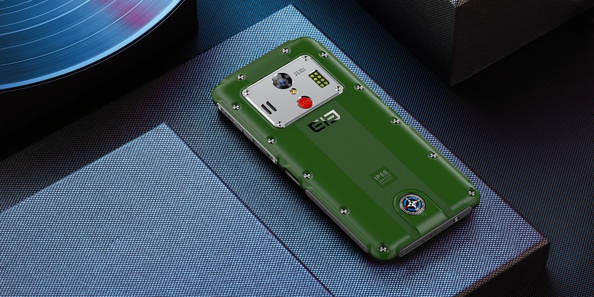 Elephone Soldier w zielonym kolorze