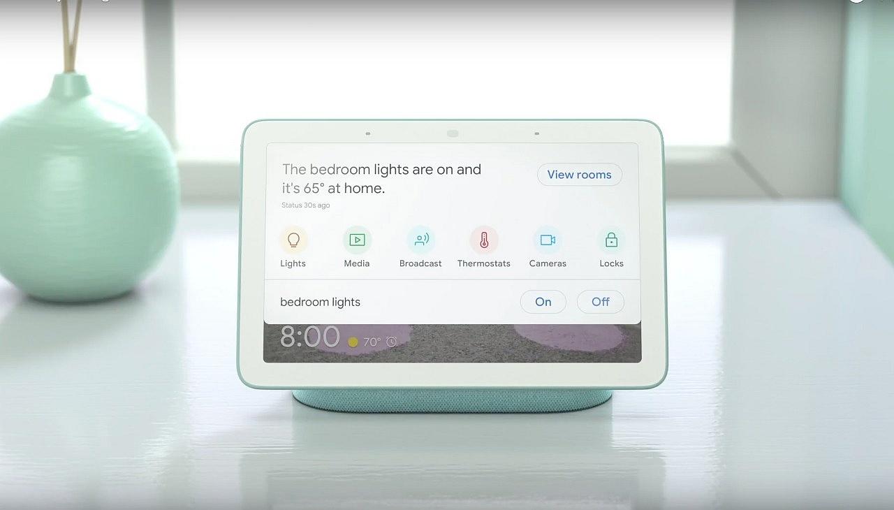 Google Home Hub - Home View