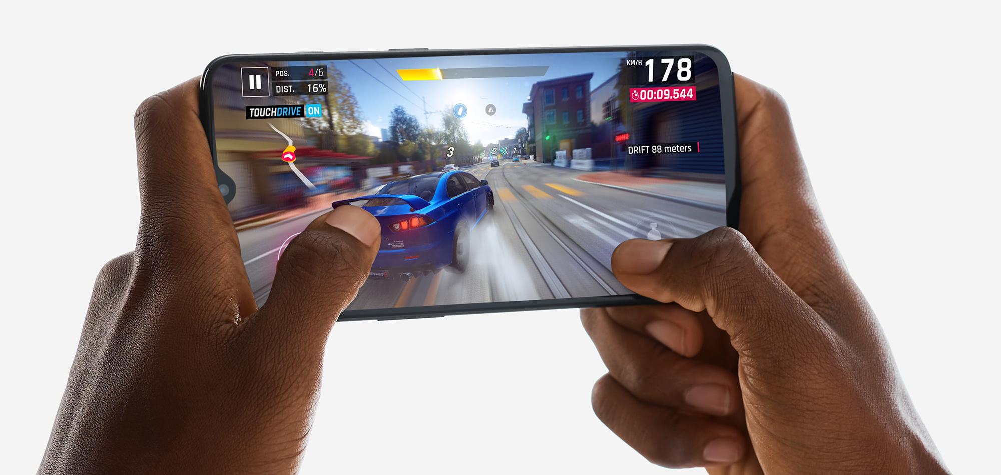 OnePlus 6T i Asphalt