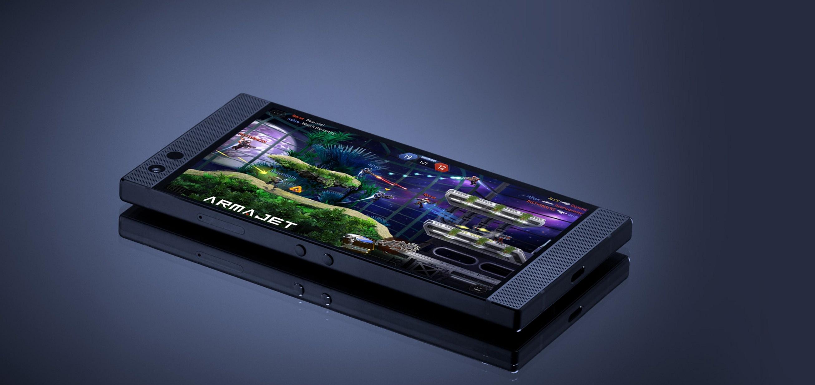 Ekran w Razer Phone 2