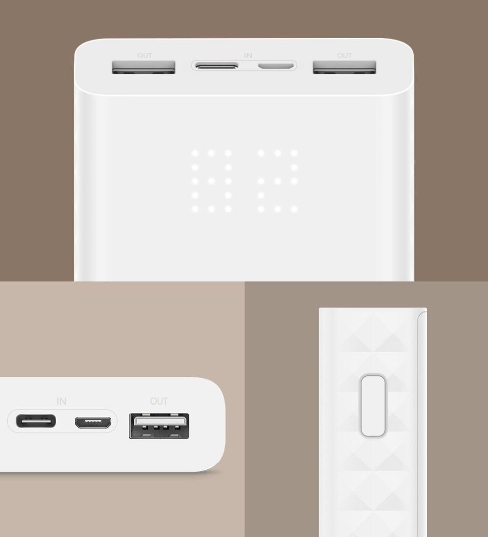 Powerbank Xiaomi ZMI 20000 mAh
