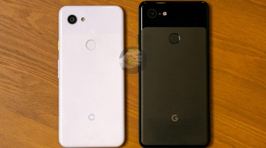 Pixel 3 Lite - po lewej, Pixel 3 XL - po prawej