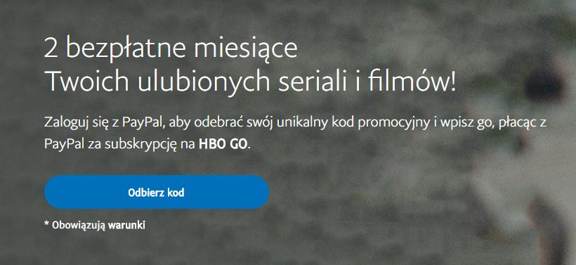 Promocja na HBO GO