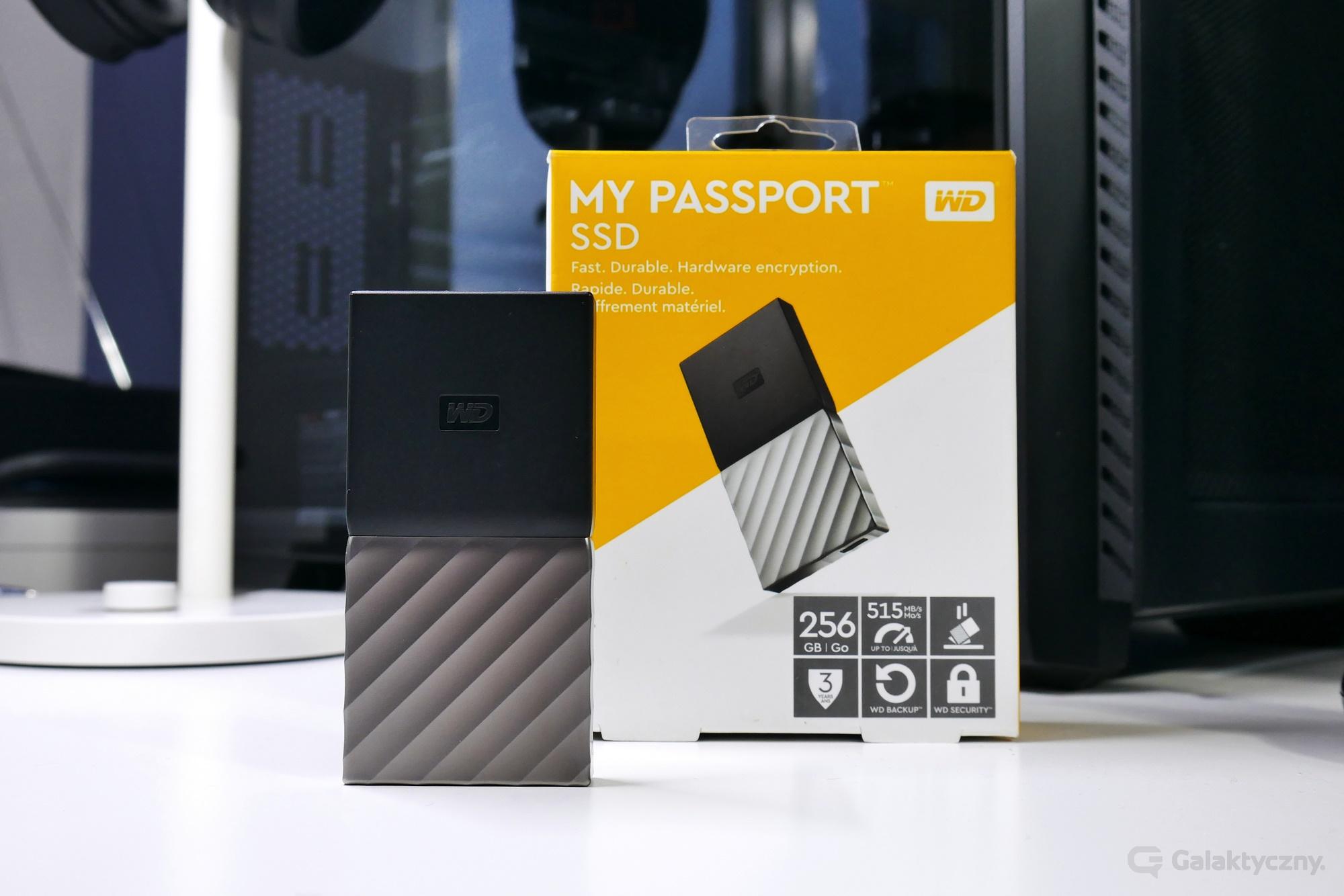 WD My Passport SSD 256 GB