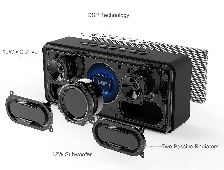 DOSS SoundBox XL - budowa