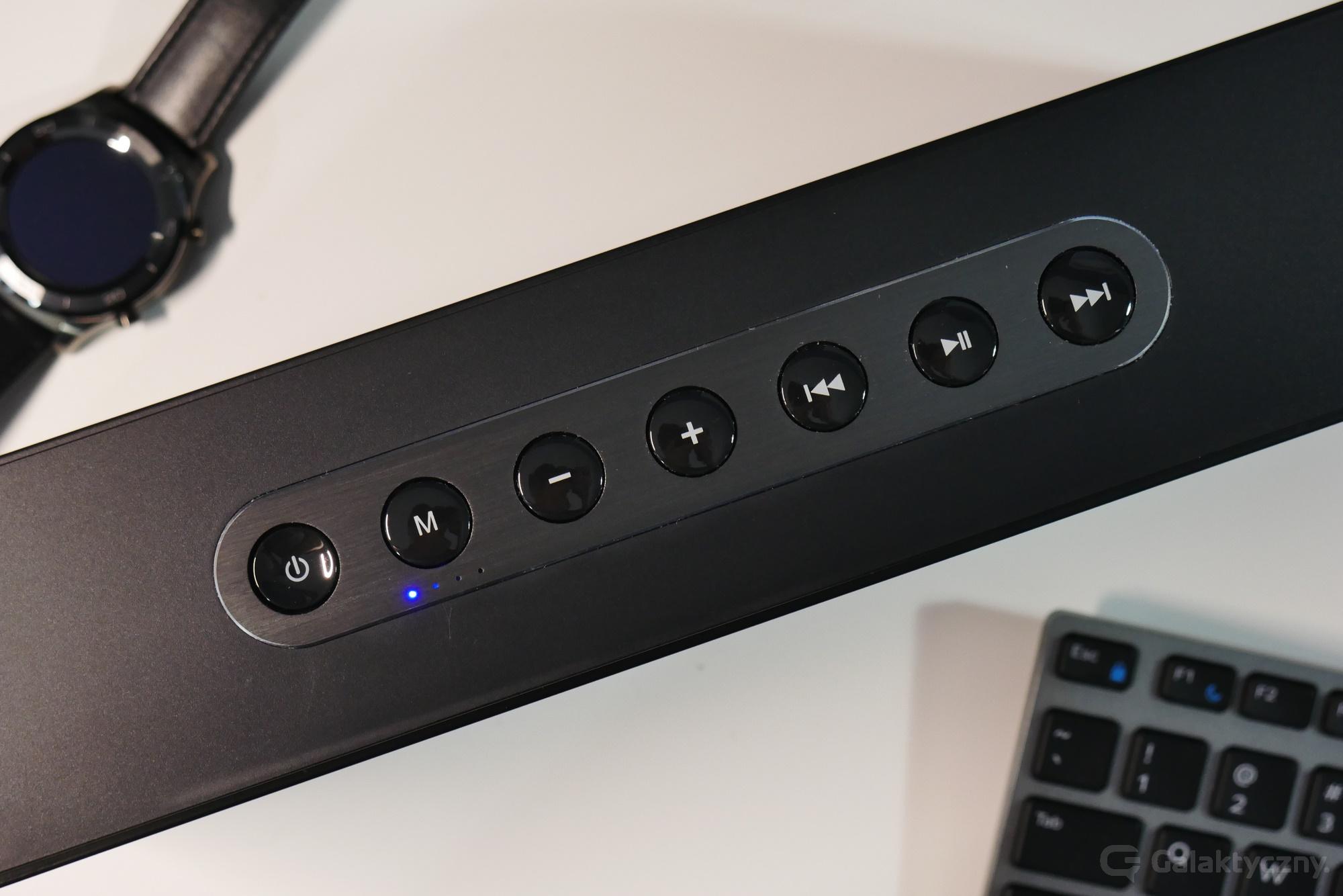 DOSS SoundBox XL - przyciski