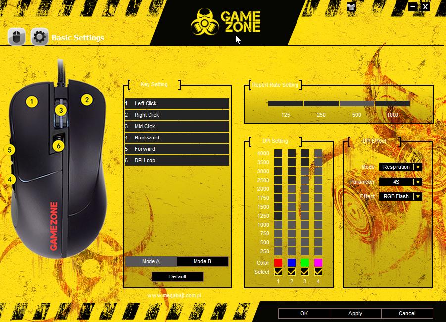 Aplikacja Tracer GameZone