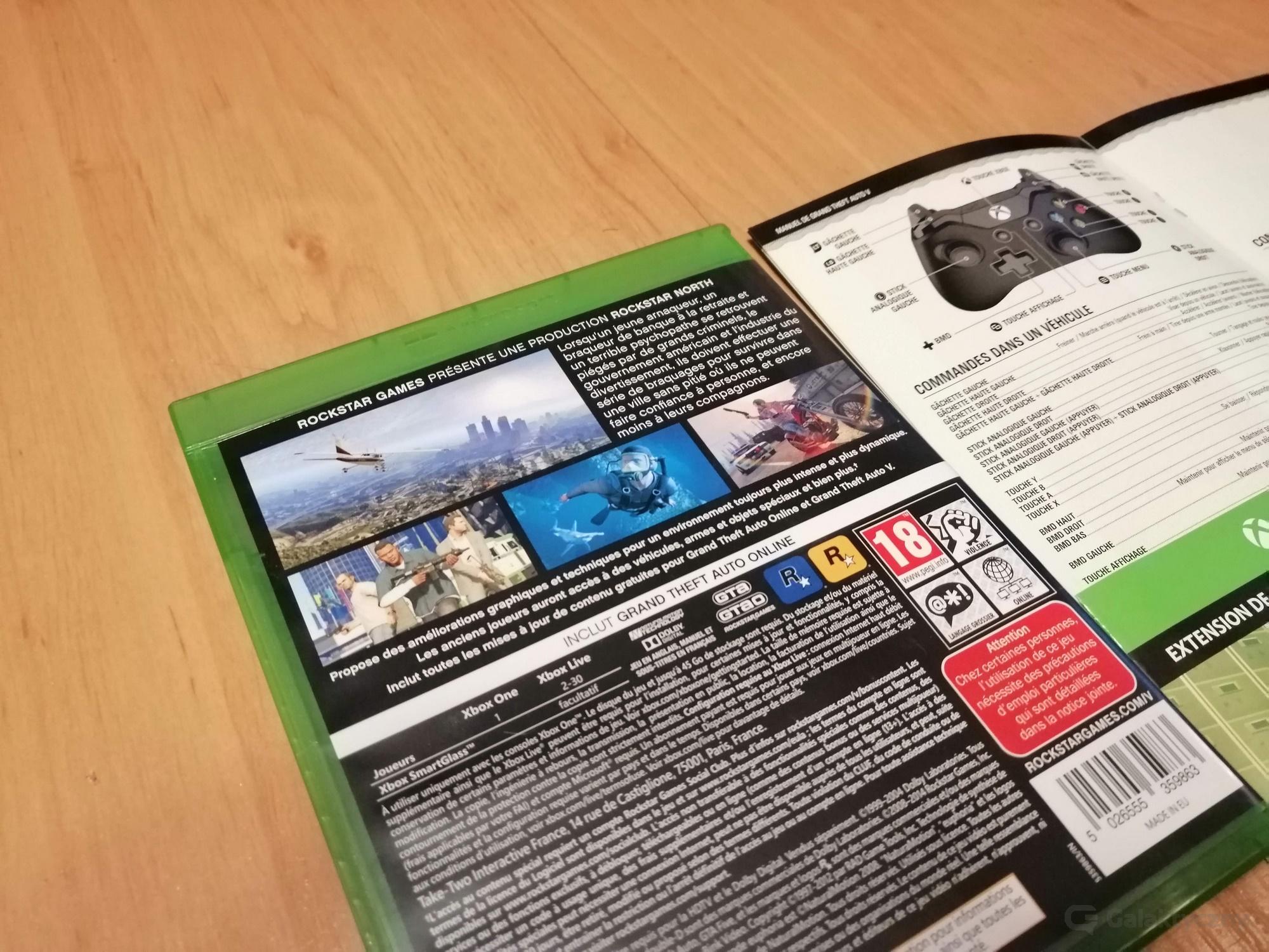 Pudełko GTA V z Morele.net