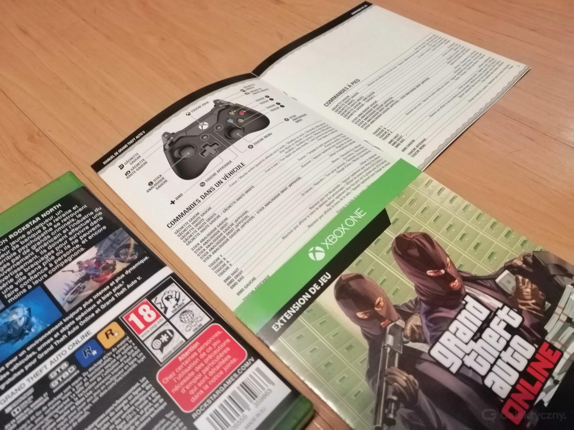 Zawartość gry GTA V z Morele.net