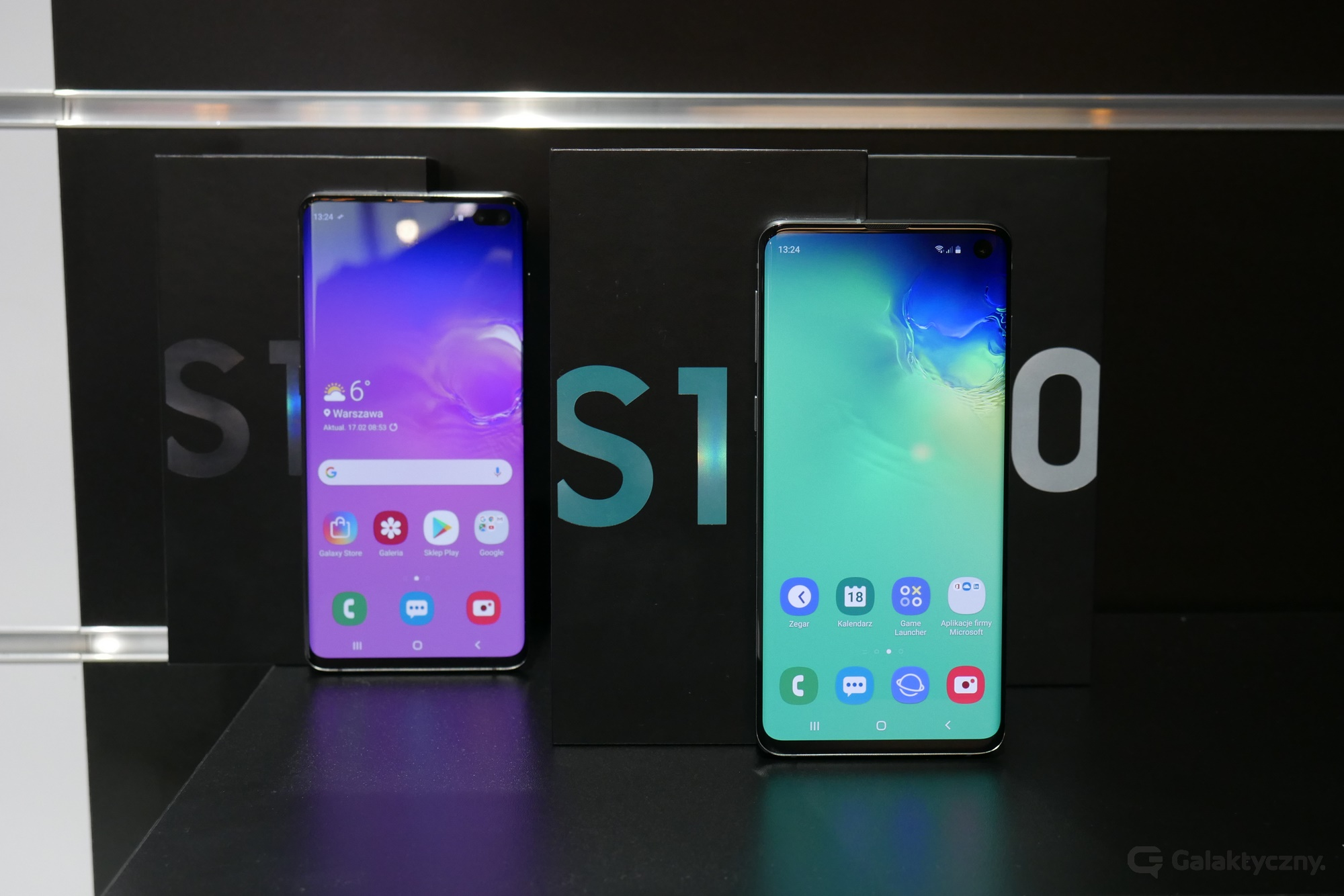 Samsung Galaxy S10 i Galaxy S10+