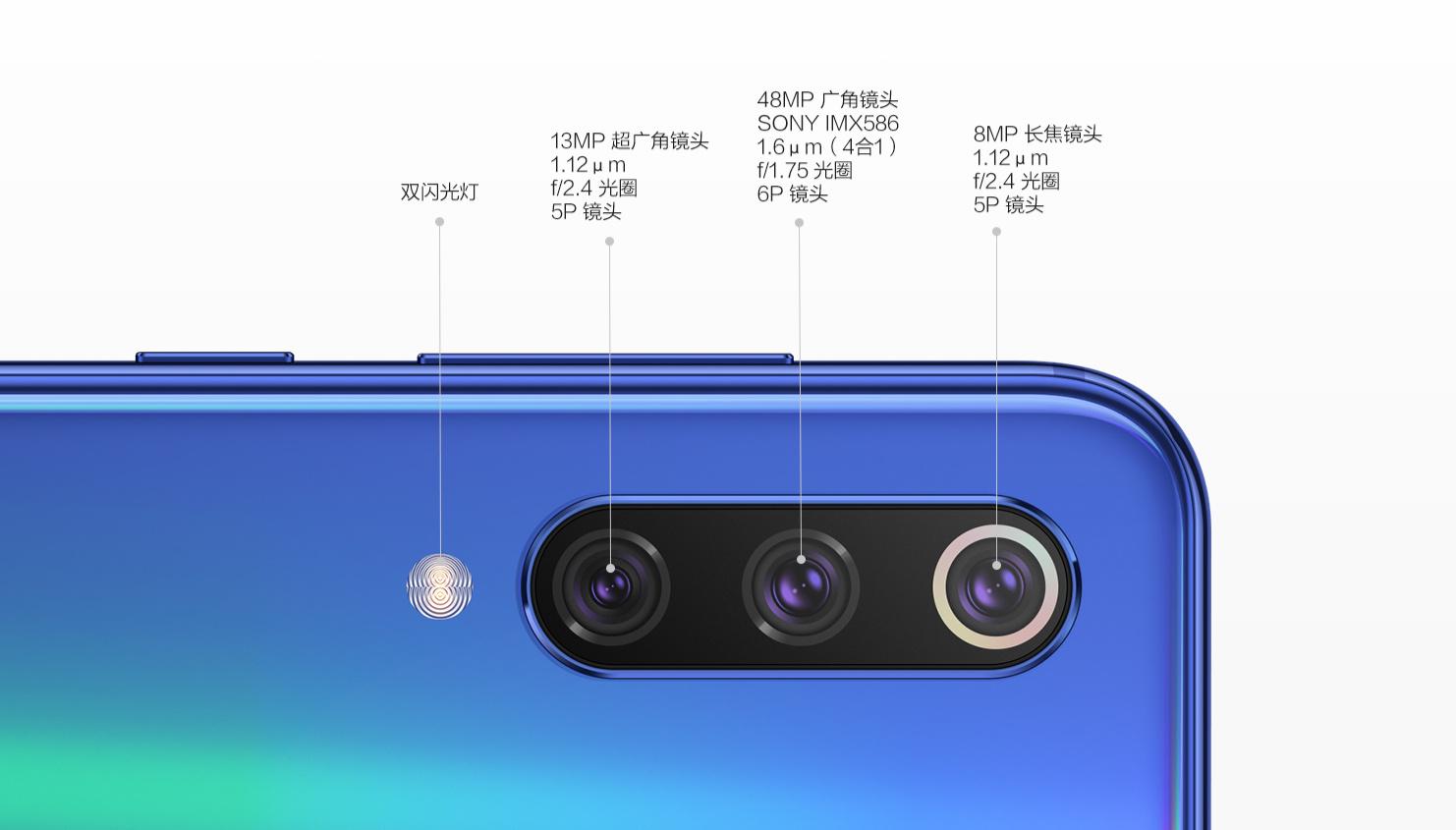 Aparaty w Xiaomi Mi 9 SE