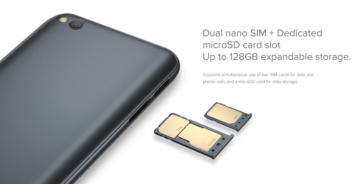 Dual SIM w Xiaomi Redmi Go