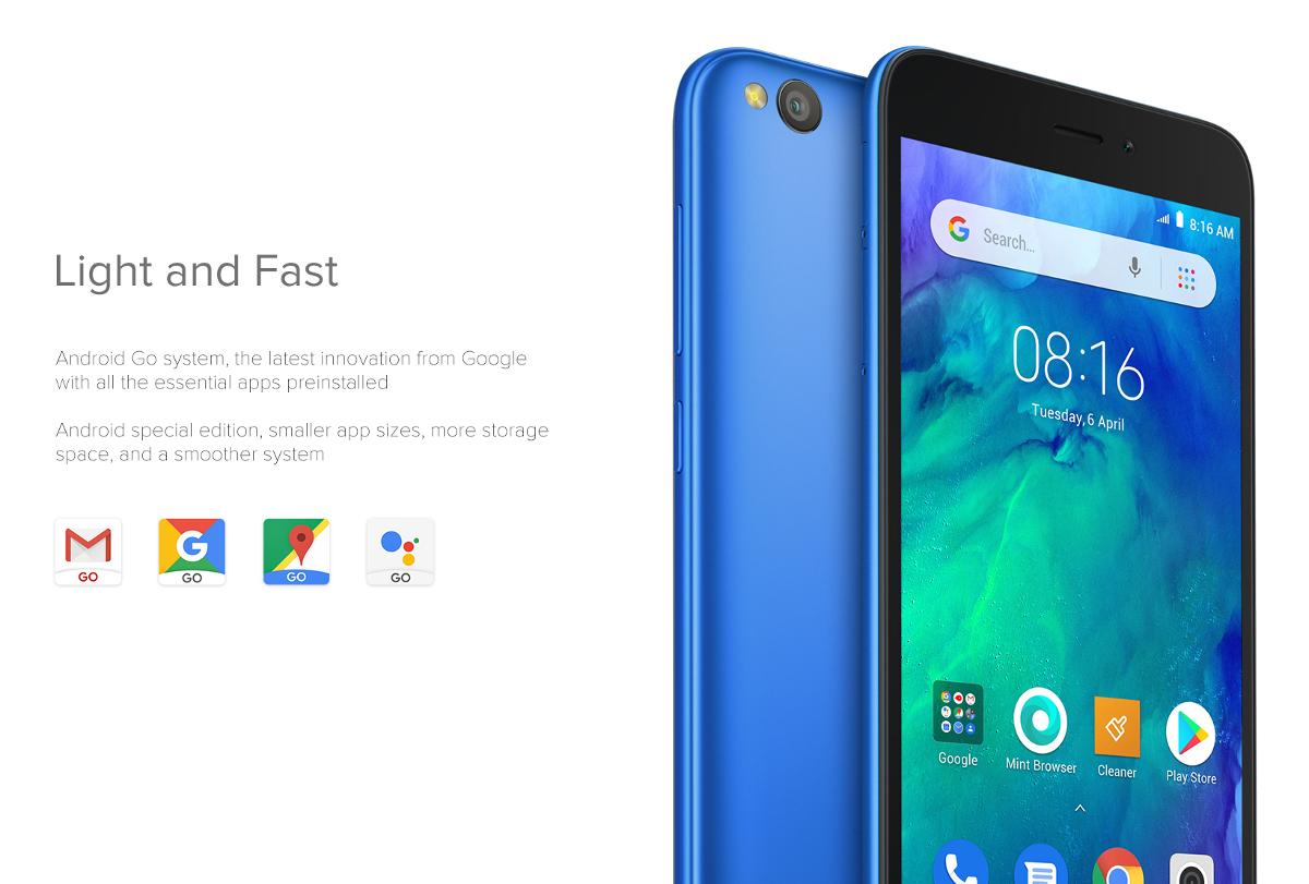 Xiaomi Redmi Go z serii Android Go