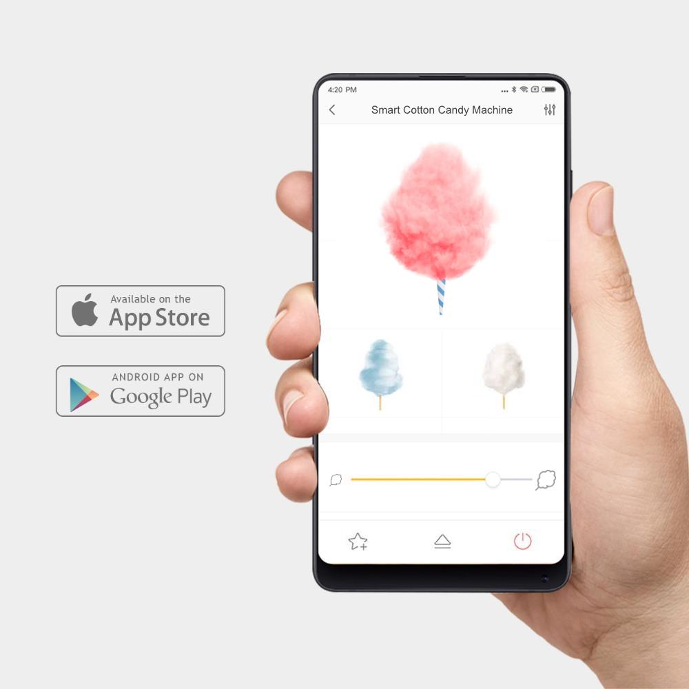 Maszyna do waty cukrowej Xiaomi - aplikacja