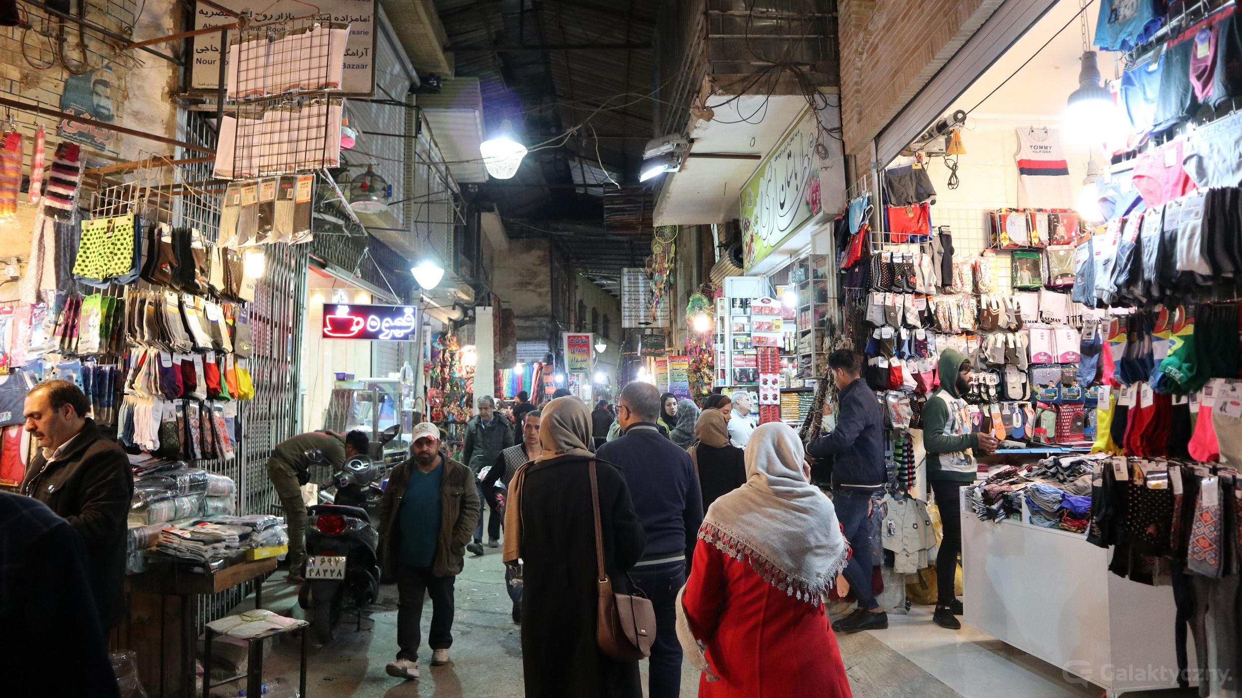 Irański targ