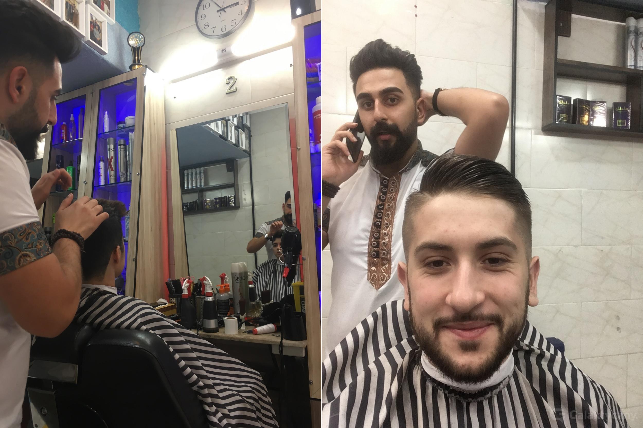 U fryzjera w Iranie