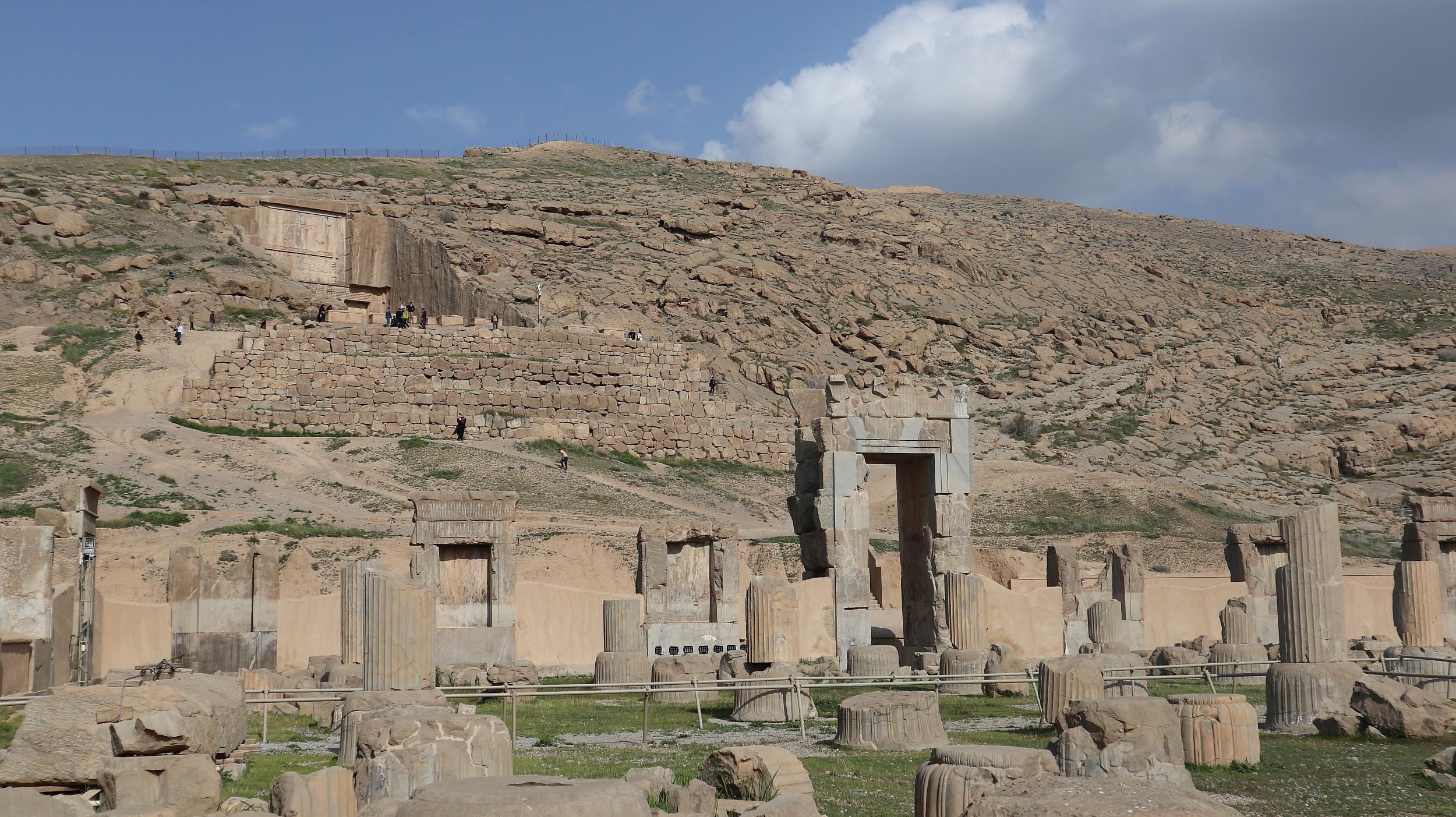 Persepolis – miasto w starożytnej Persji