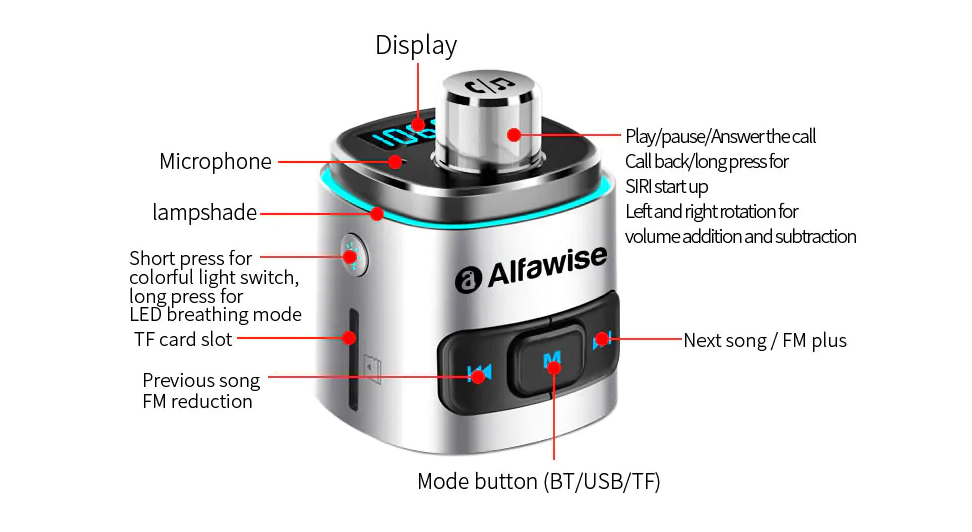 Transmiter FM Alfawise