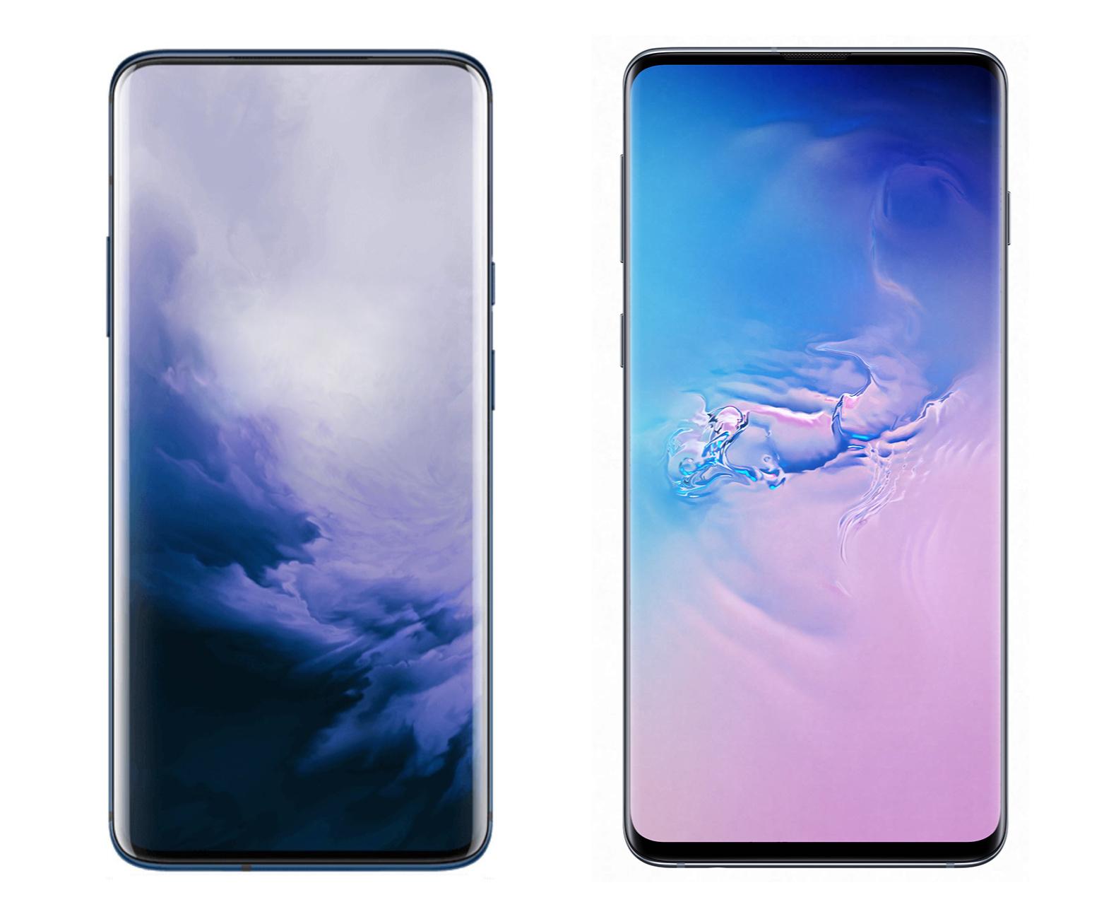 OnePlus 7 i Samsung Galaxy S10