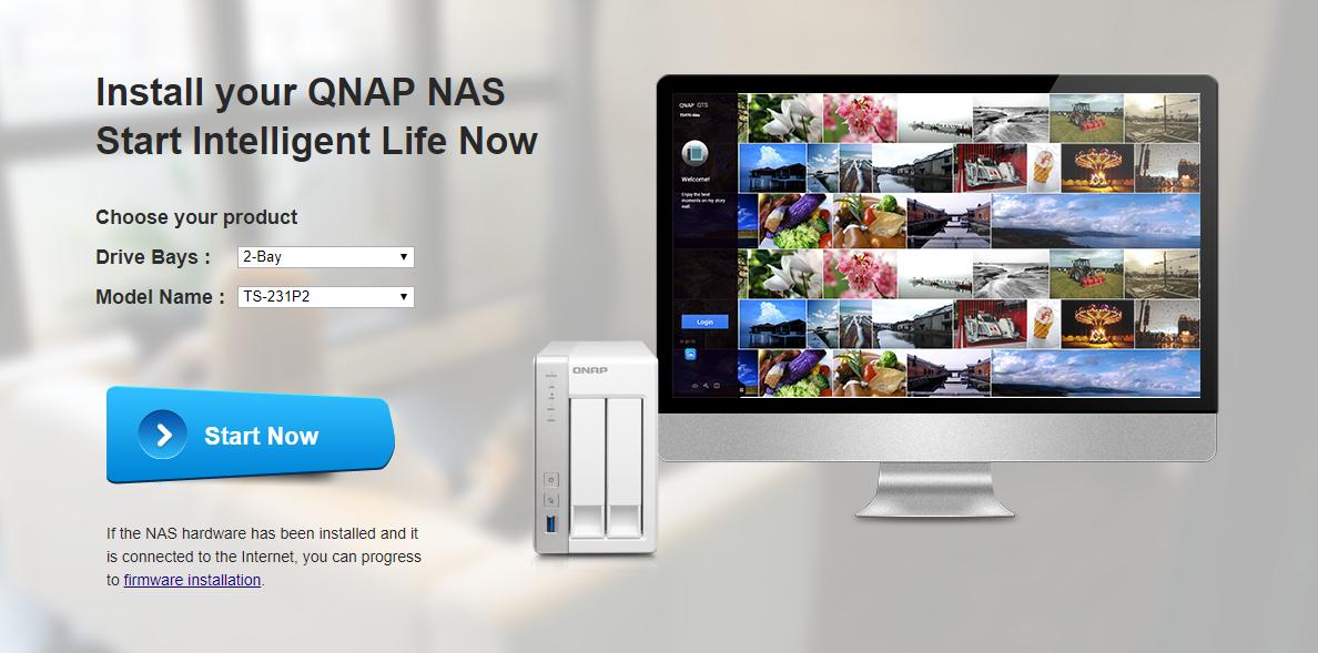 QNAP TS-231P2 - wstępna konfiguracja