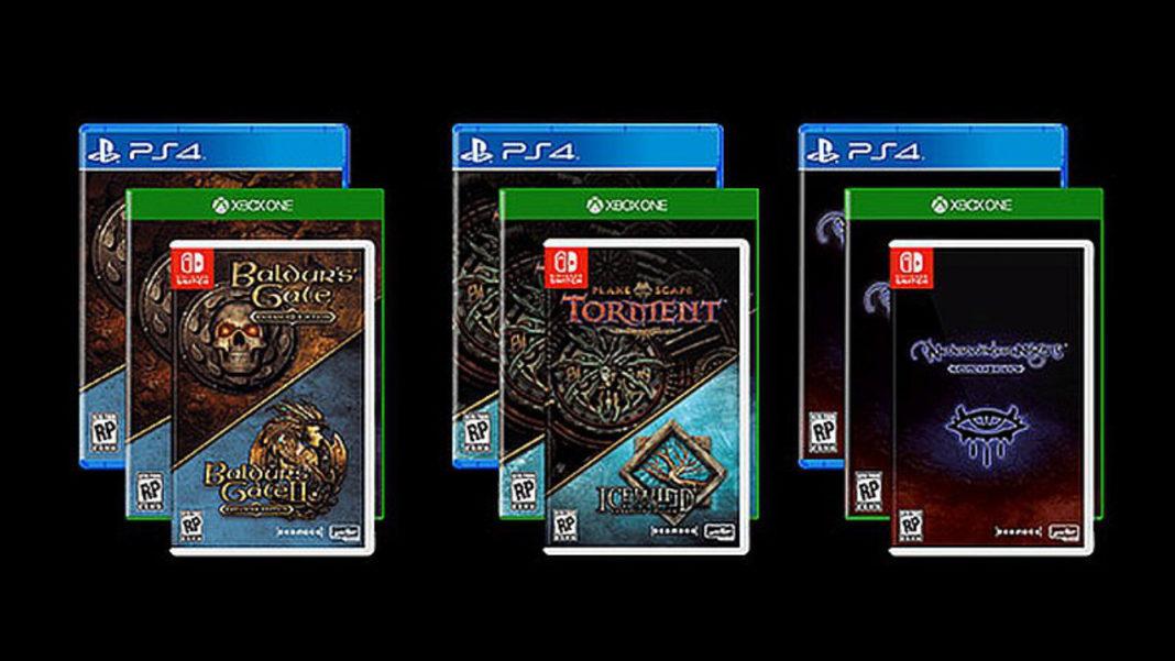 Baldur's Gate, Planescape: Torment i Neverwinter Nights na konsole