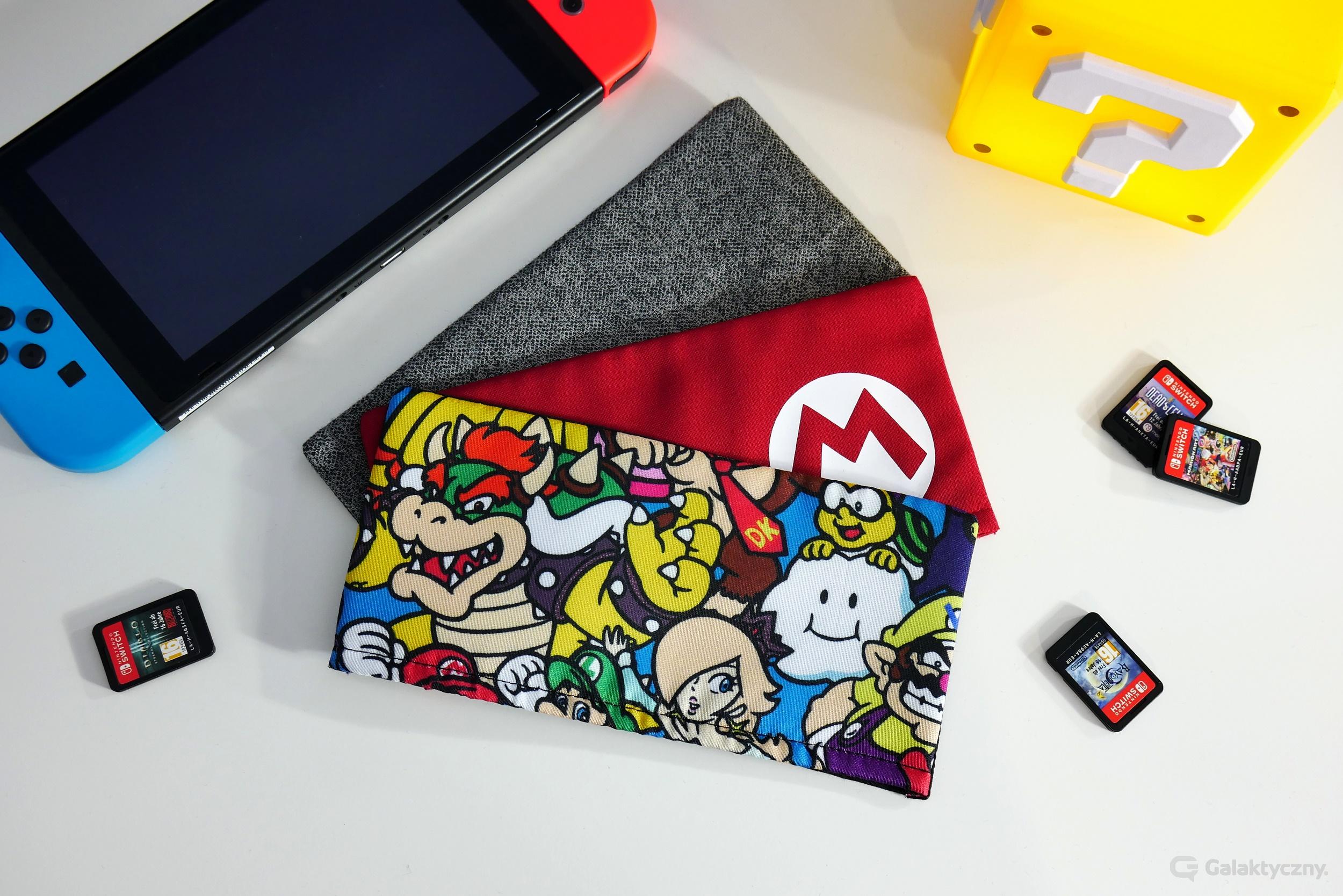 Nakładki na stację dokującą Nintendo Switch