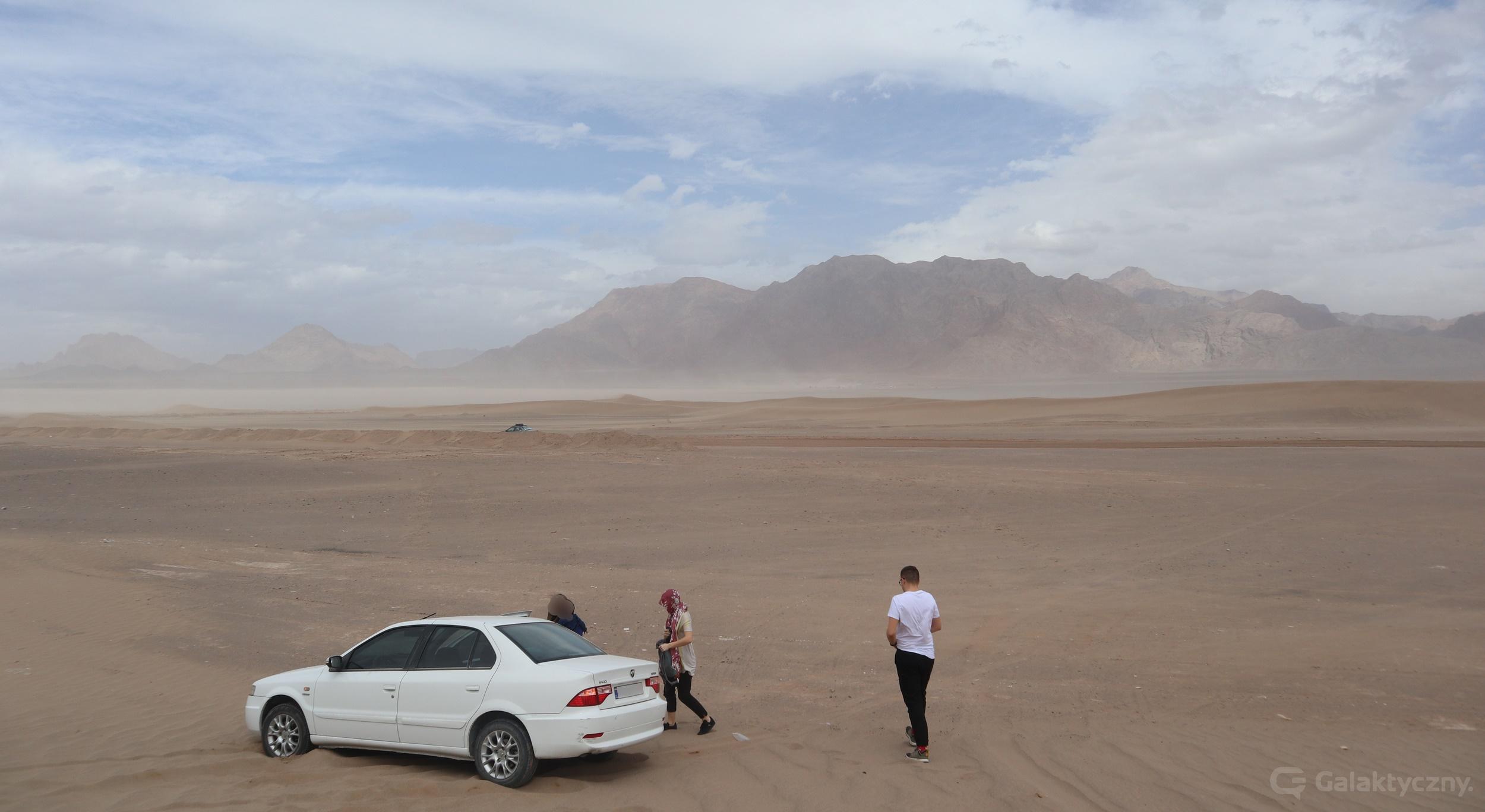 Jazd - auto w piasku