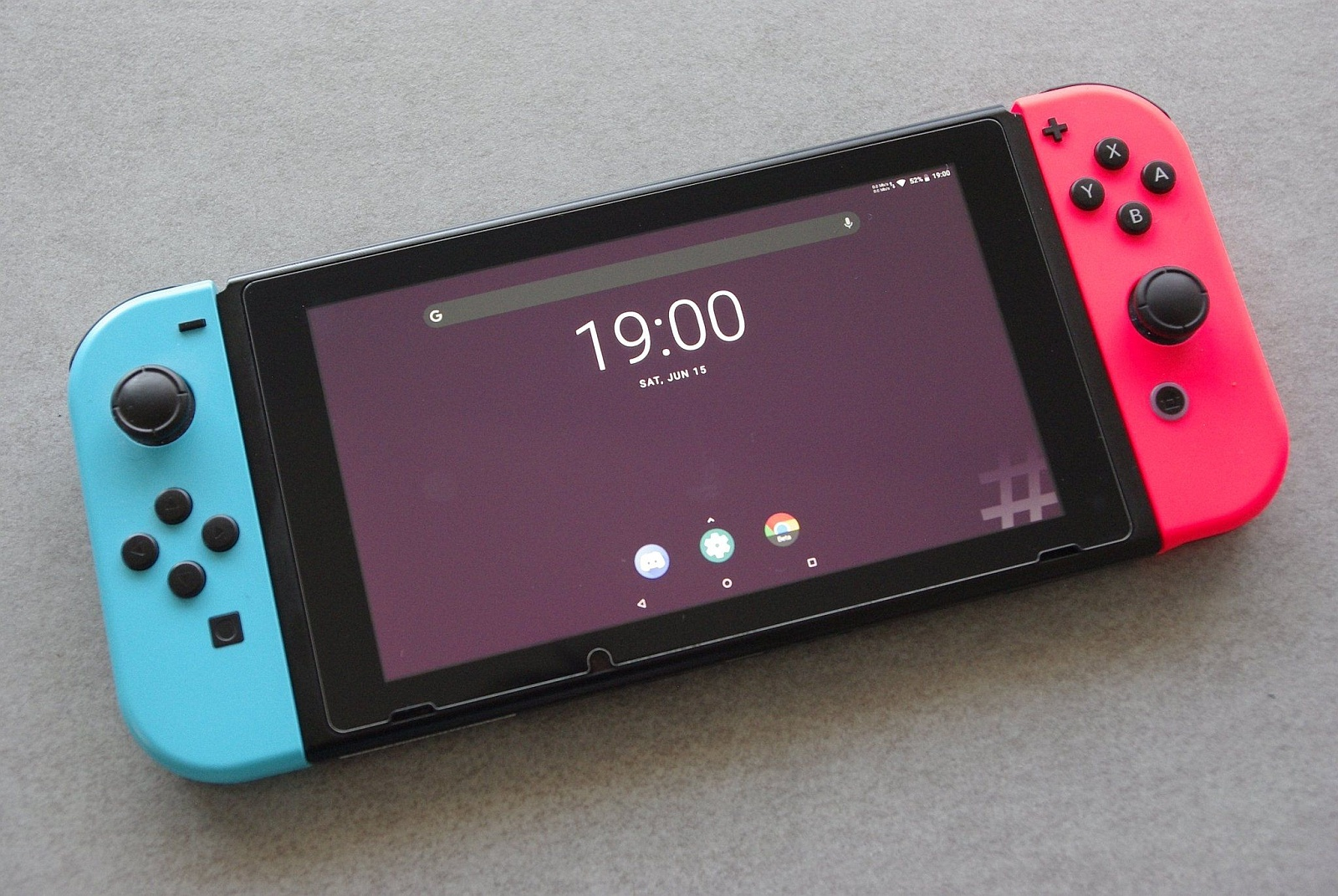 Android na Nintendo Switch