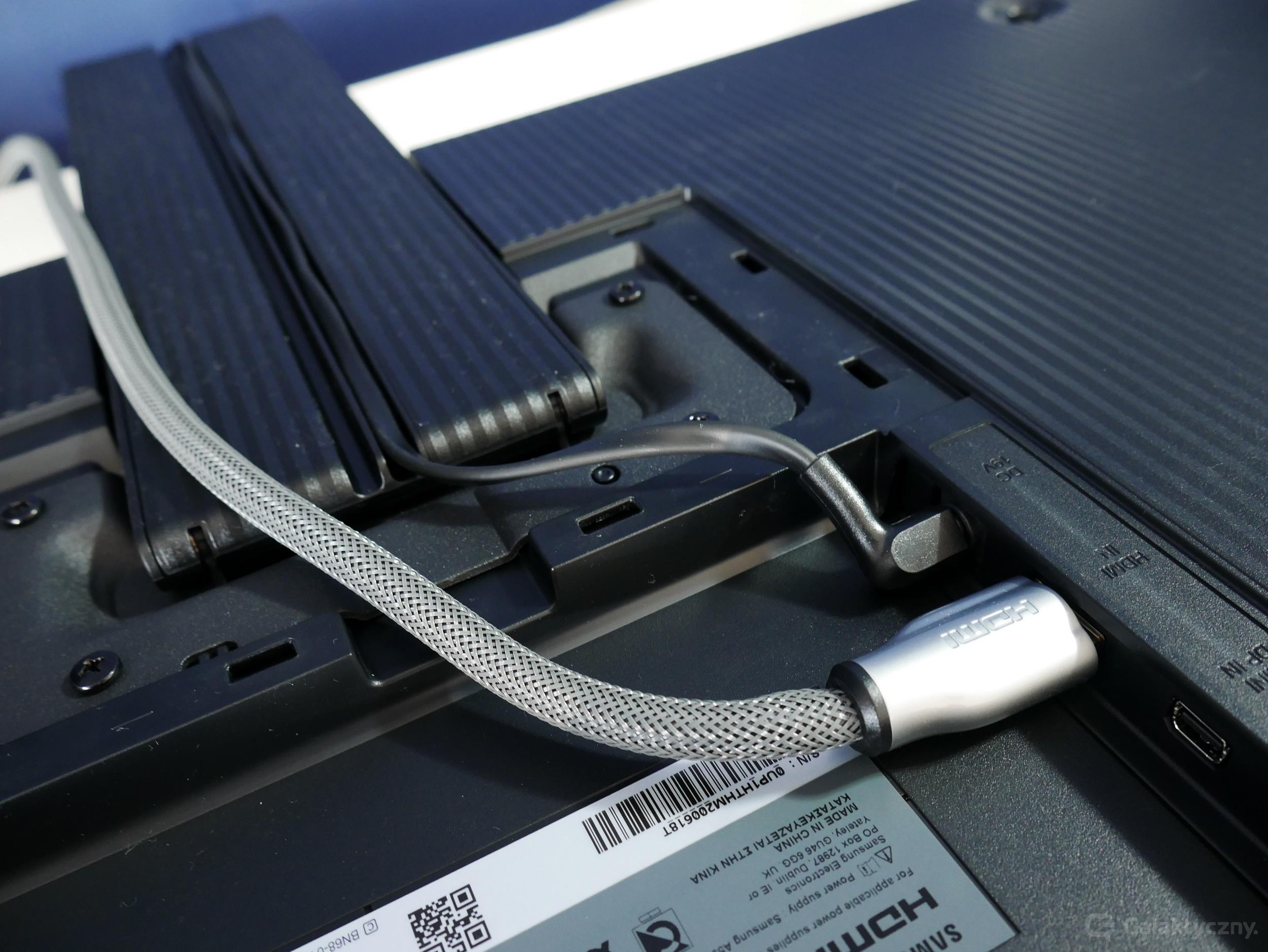 Samsung Space Monitor - złącza