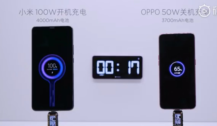 Xiaomi 100 Super Charge Turbo