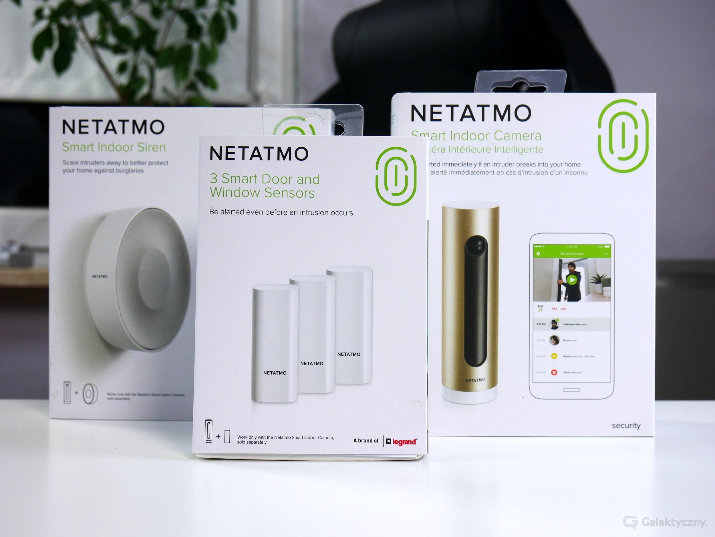 Zestaw Netatmo Security