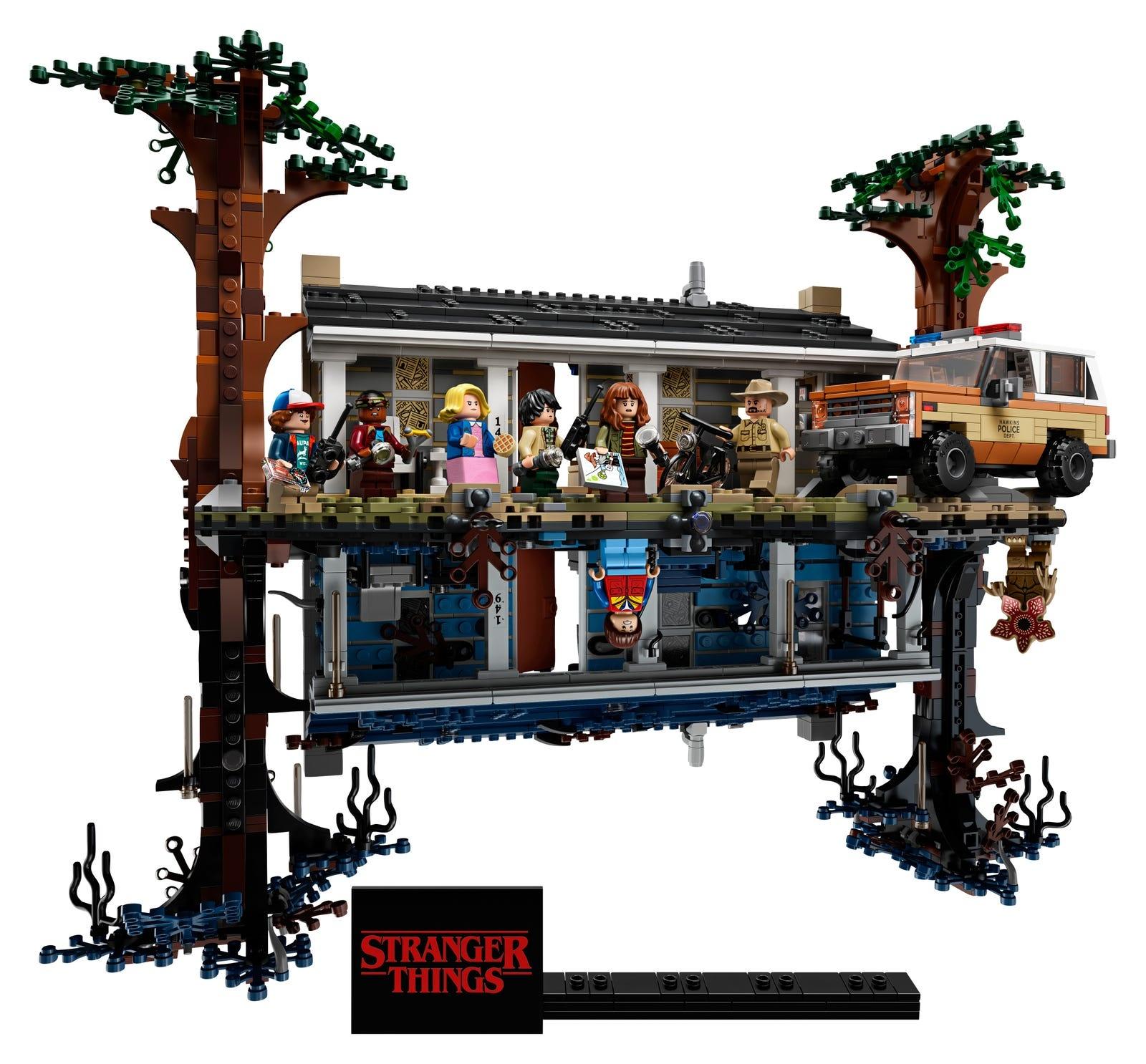 LEGO Stranger Things - Druga Strona
