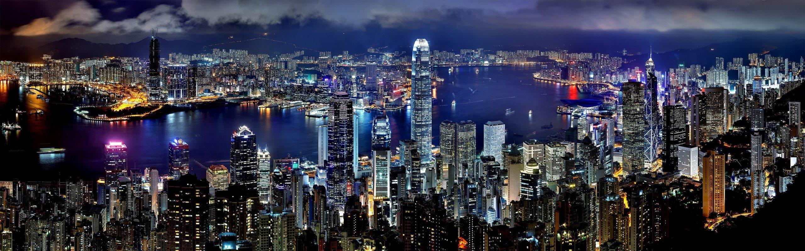Panorama Hong Kongu / fot. ecopetit.cat