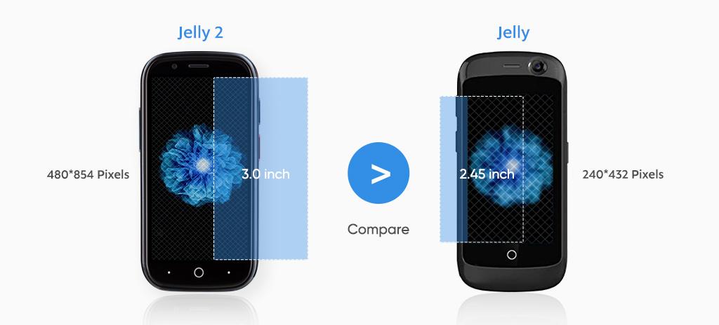 Jelly 2 (po lewej) i Jelly Pro (po prawej)