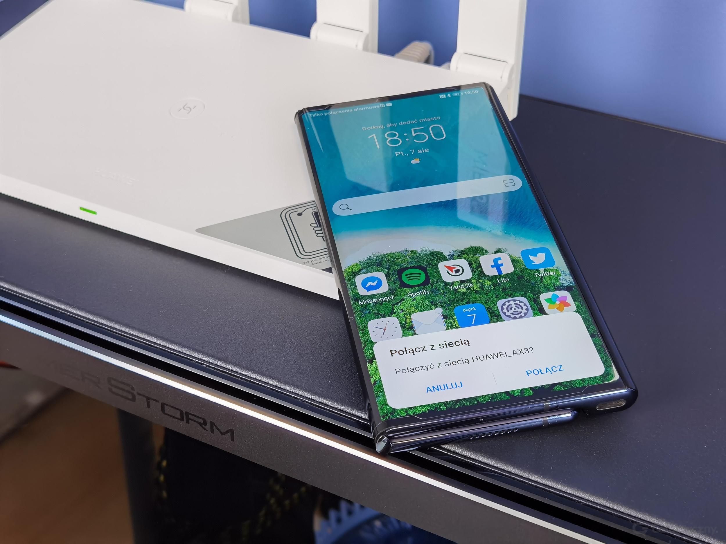 Huawei WiFi AX3 i Huawei Mate Xs