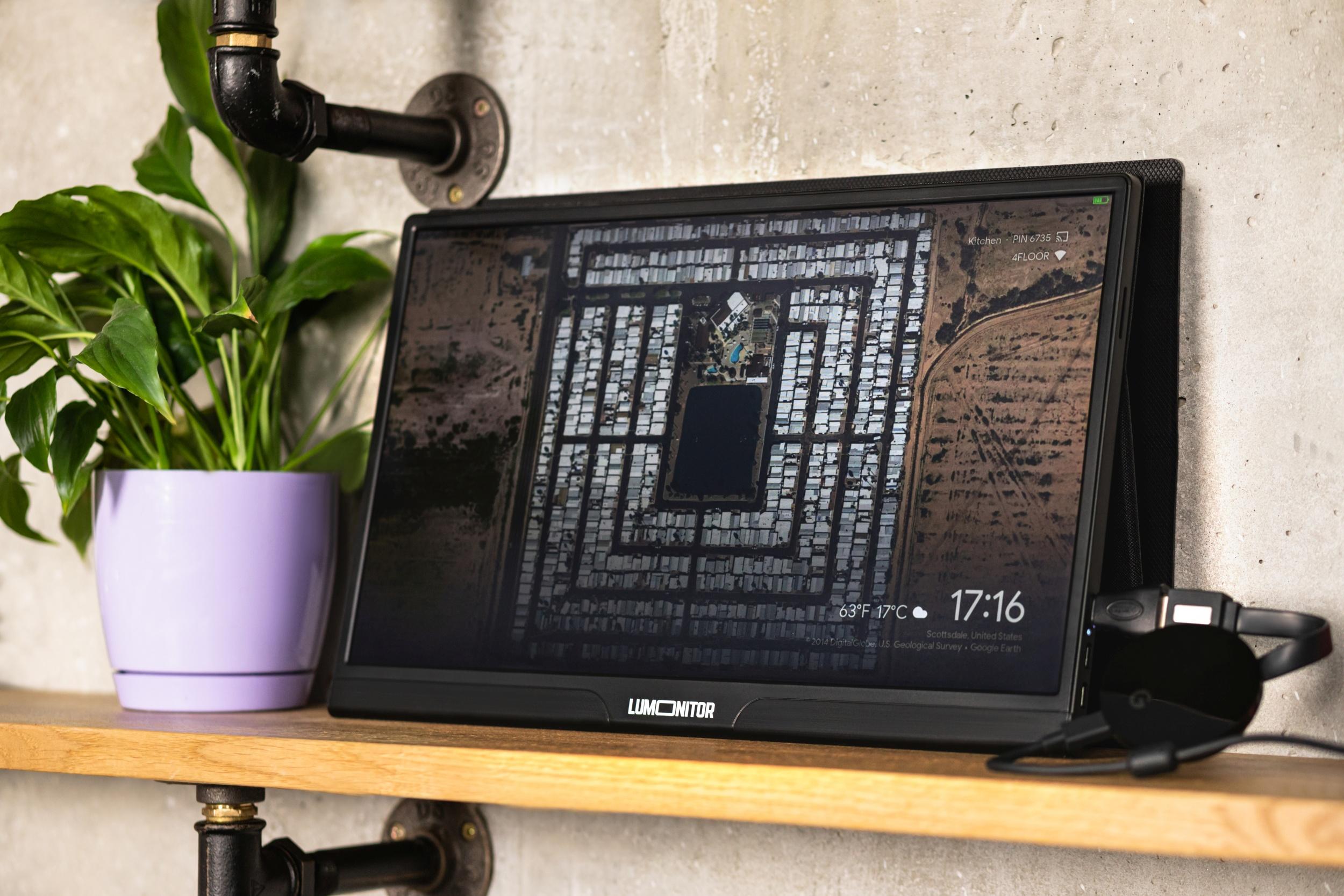 Lumonitor i Chromecast
