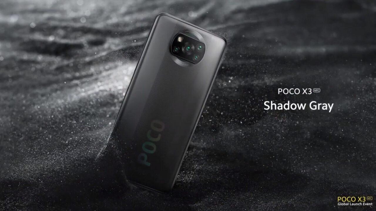 Poco X3 NFC w kolorze Shadow Gray