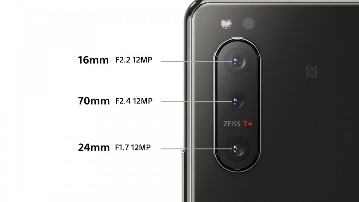 Sony Xperia 5 II - aparaty z tyłu