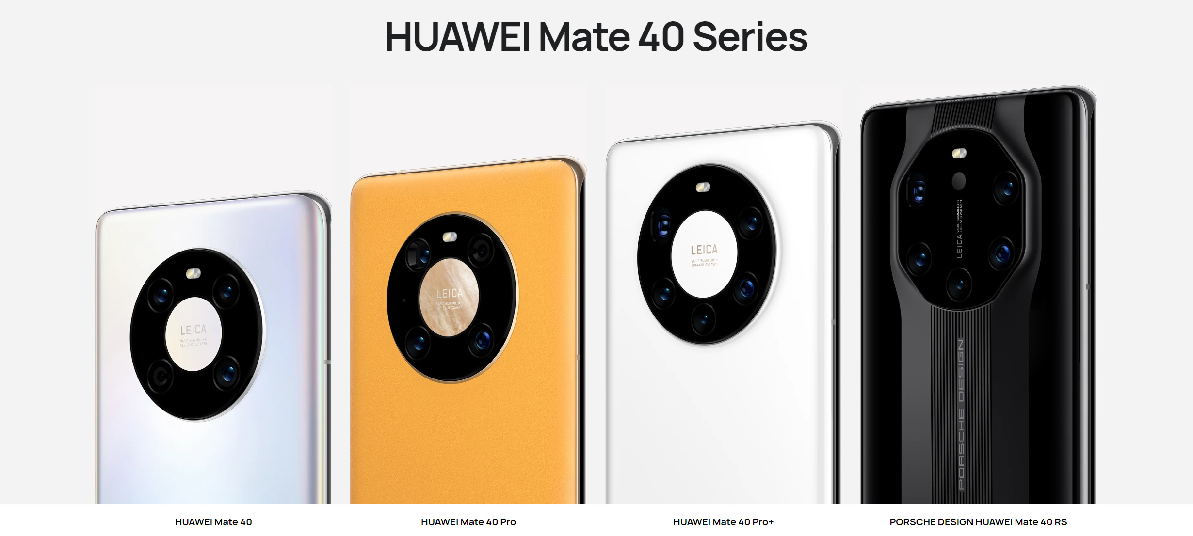 Seria Huawei Mate 40 / fot. Huawei