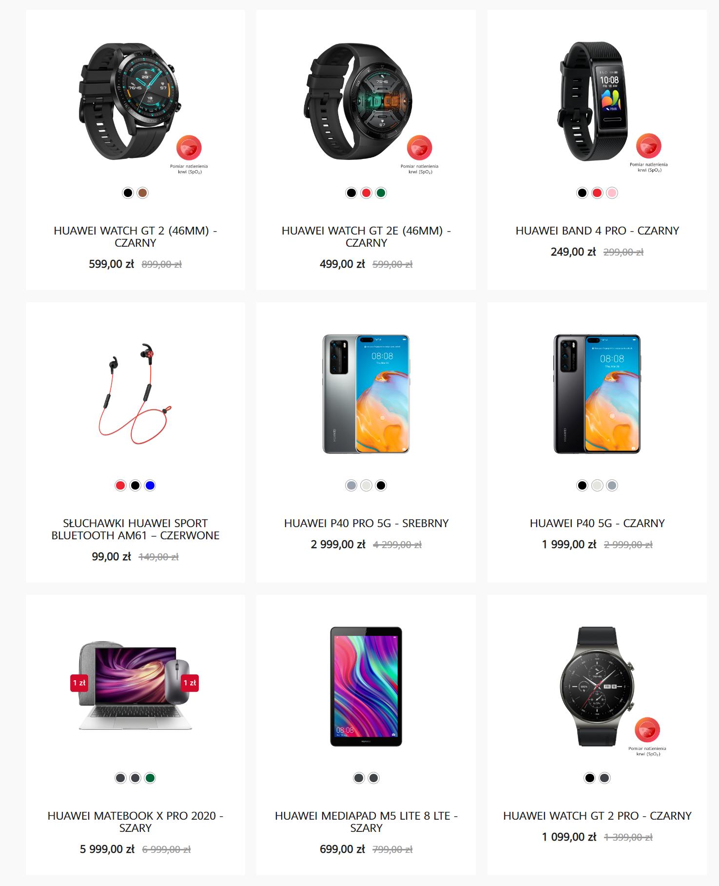Black Friday w sklepie Huawei
