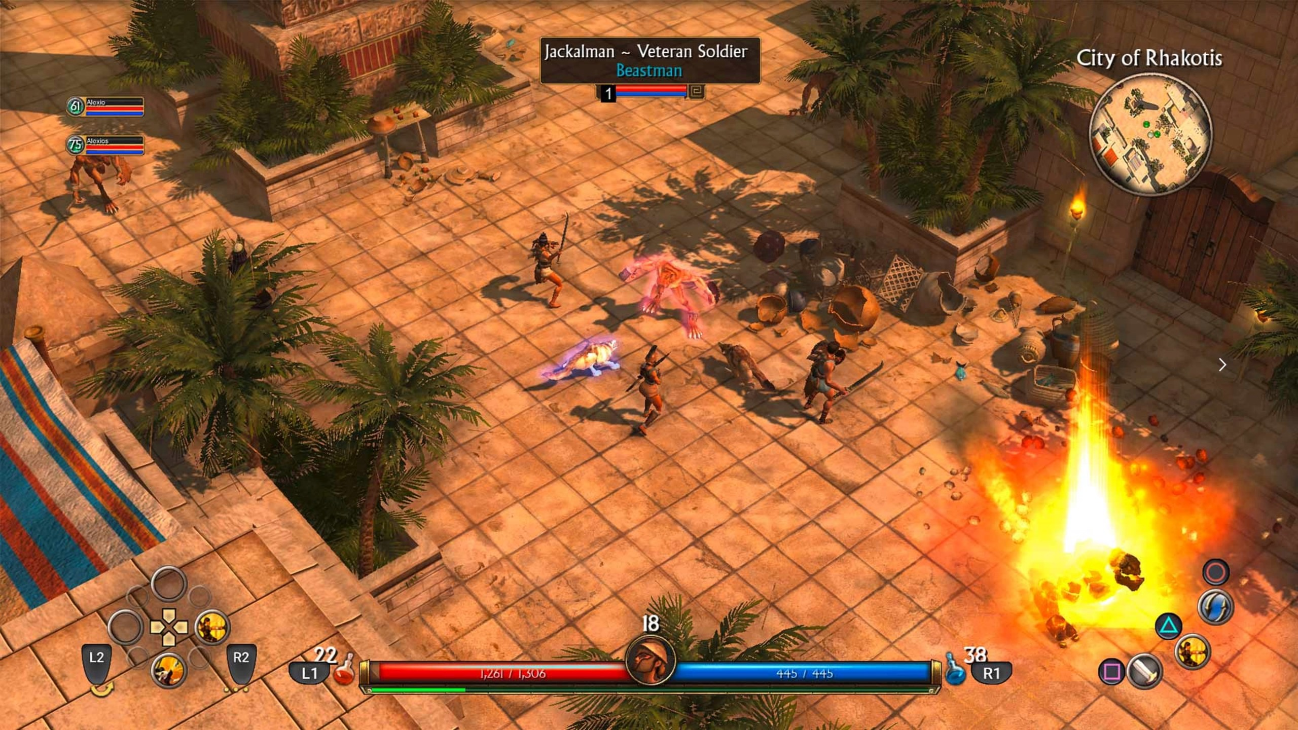 Titan Quest / Fot.  PlayStation Store