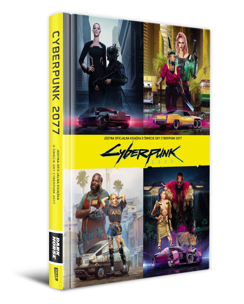 Oficjalna książka Cyberpunk 2077