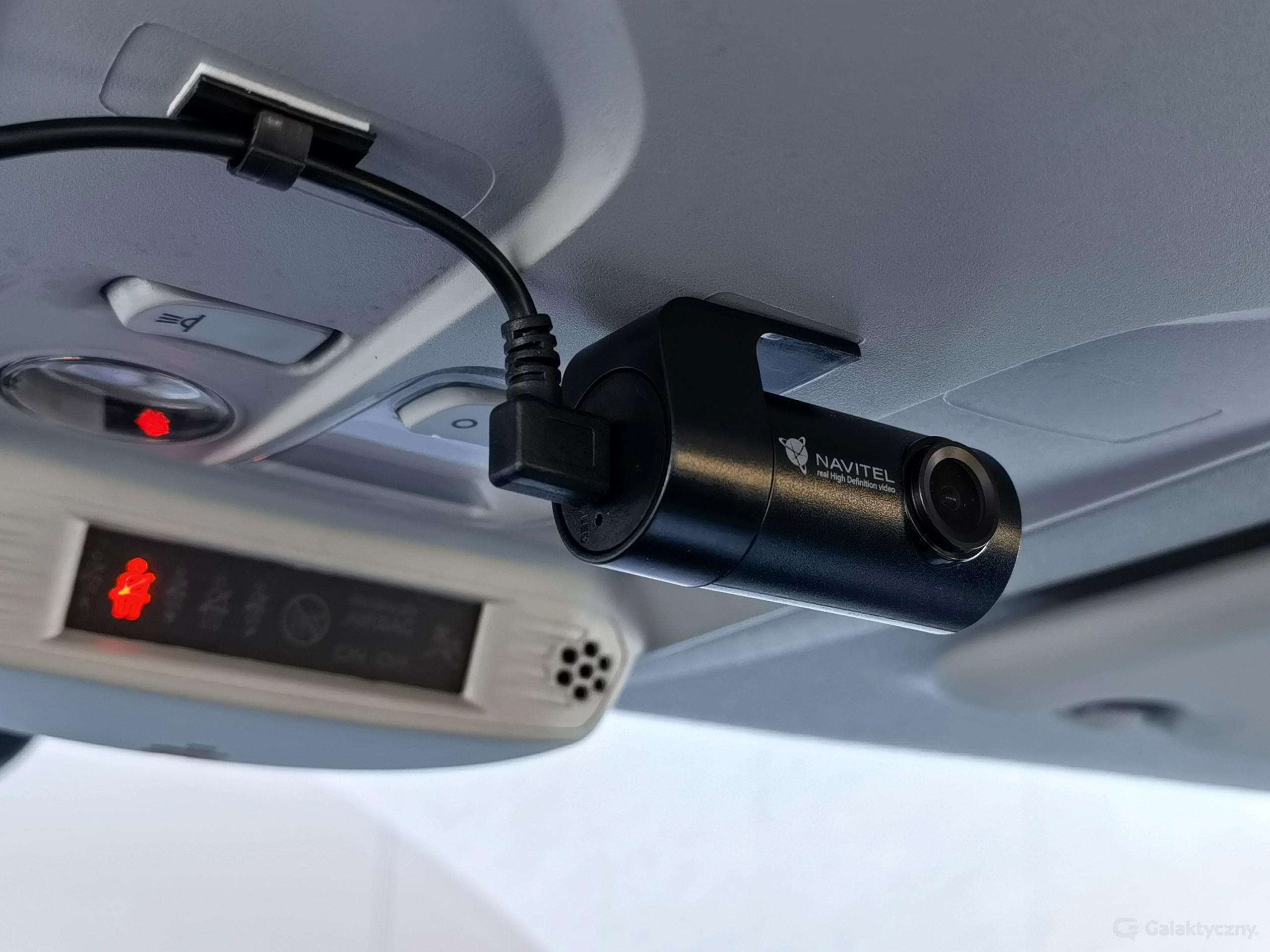 Navitel R250 DUAL - tylna kamera