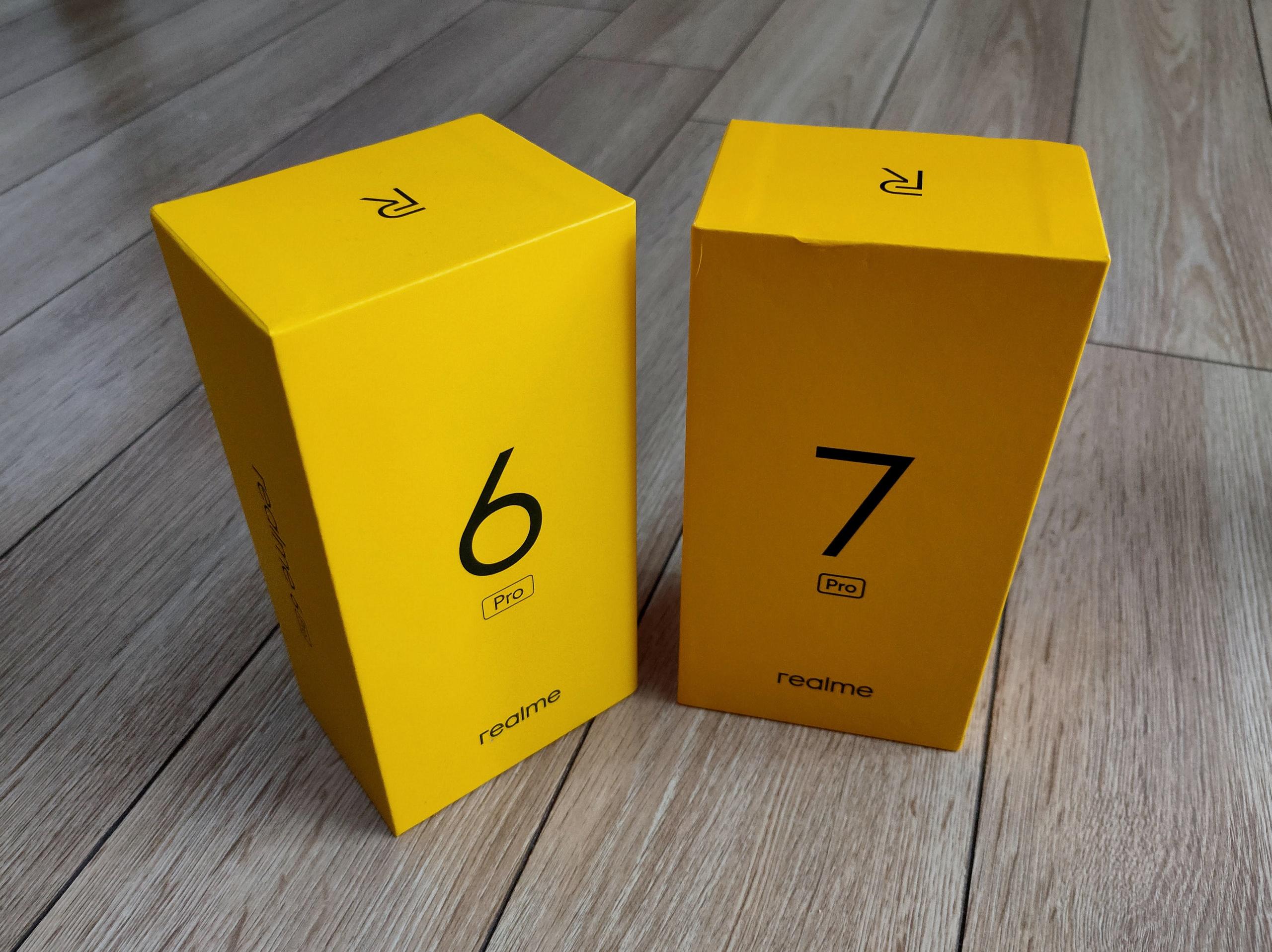 Realme 6 Pro i Realme 7 Pro