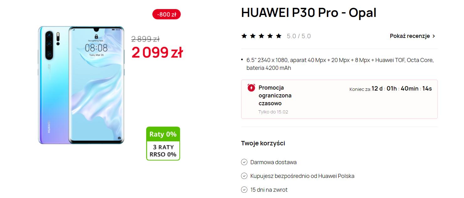 Huawei P30 Pro / Sklep Huawei