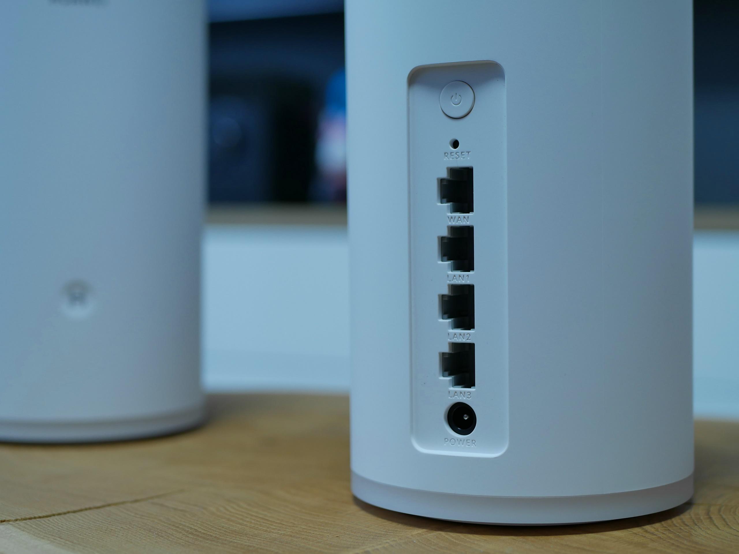 Huawei WiFi Mesh - porty